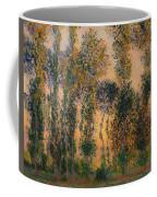 Poplars At Giverny - Sunrise Coffee Mug