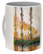 Poplars, Autumn Coffee Mug