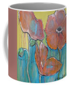 Poppies 3 Coffee Mug