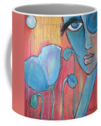 Poppies 7 Luna Let Me Go Coffee Mug