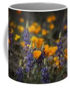 Poppies And Lupines  Coffee Mug