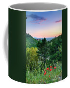 Poppies And The Alhambra Palace Coffee Mug