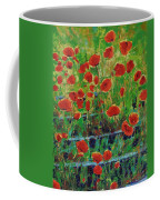 Poppies And Traverses 1 Coffee Mug