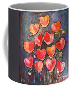 Poppies Are Hearts Of Love We Can Give Away Coffee Mug