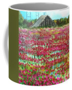 Poppies At Cedar Point Coffee Mug