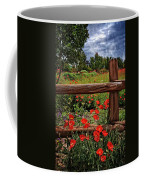 Poppies In The Texas Hill Country Coffee Mug