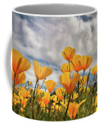 Poppies In The Wind Part Two  Coffee Mug