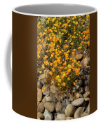 Poppies On The Rocks Coffee Mug