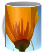 Poppies Sunlit Poppy Flower 1 Wildflower Art Prints Coffee Mug