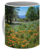 Poppies With A View At Oak Glen Coffee Mug