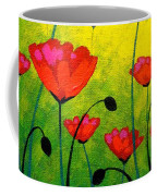 Poppy Cluster Coffee Mug