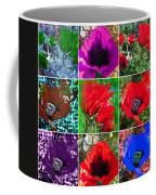 Poppy Collage Coffee Mug