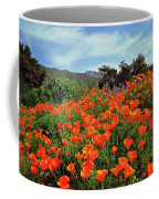 Poppy Explosion Coffee Mug