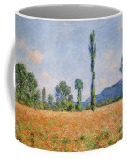 Poppy Field, Giverny Coffee Mug