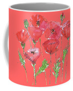 Poppy Garden Coffee Mug