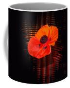 Poppy Passion Square Coffee Mug