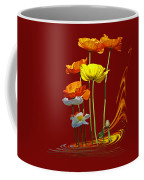 Poppy Pirouette Vertical Coffee Mug