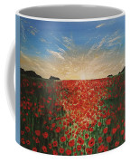 Poppy Sunset Coffee Mug