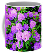 Pops Of Purple Coffee Mug