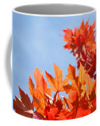 Popular Autumn Art Red Orange Fall Tree Nature Baslee Troutman Coffee Mug