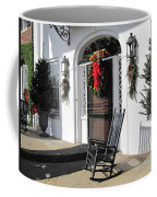 Porch At Boone Hall Plantation Charleston Sc Coffee Mug
