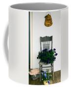 Porch Flowers Coffee Mug