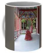 Porch With Rocking Chairs Coffee Mug