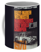 Porsche 1970 Rally World Champion Coffee Mug