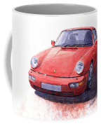 Porsche 911 Carrera 2 1990 Coffee Mug