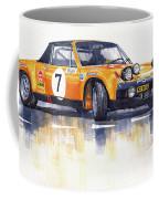 Porsche 914-6 Gt Rally Coffee Mug
