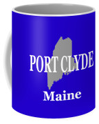 Port Clyde Maine State City And Town Pride  Coffee Mug
