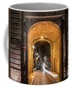 Port Dinan Archway At Night Coffee Mug