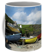 Port Isaac Boats Coffee Mug