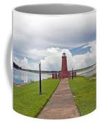 Port Of Kissimmee Lighthouse On Lake Tohopekaliga In Central Florida Coffee Mug