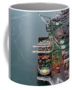 Port Of Oakland Aerial Photo Coffee Mug