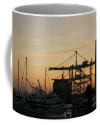 Port Of Oakland Sunset Coffee Mug