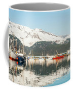Port Of Seward Alaska  Coffee Mug
