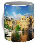 Port Of Sorrento, Southern Italy Coffee Mug