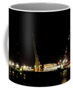 Port Of Tampa At Night Coffee Mug