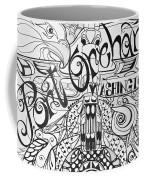 Port Orchard Washington Zentangle Collage 2 Coffee Mug by Jani Freimann