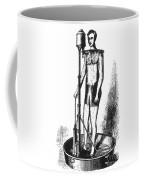 Portable Shower Bath 1880 Coffee Mug