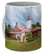 Portage River - Jacobsville - Lighthouse Coffee Mug
