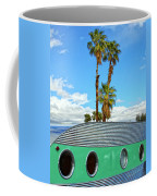 Portholes Palm Springs Coffee Mug