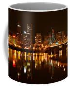 Portland At Night Coffee Mug