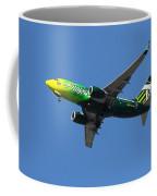 Portland Timbers - Alaska Airlines N607as Coffee Mug by Aaron Berg