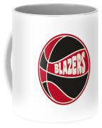Portland Trail Blazers Retro Shirt Coffee Mug