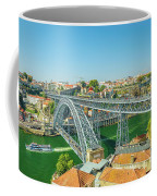 Porto Bridge Skyline Coffee Mug