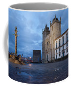 Porto Cathedral And Pillory Column In Portugal Coffee Mug