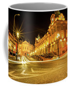 Porto City By Night Coffee Mug