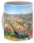 Porto Historic Center Aerial Coffee Mug